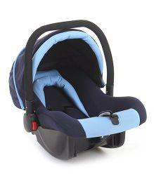 Rear Facing Car Seat Cum Carry Cot - Navy Blue