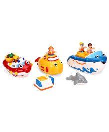 Wow Super Bath Toys Multicolor - Set Of 3
