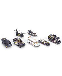 Playmate Engine Street Machine Car Gift Set - Pack Of 7