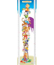 Dreamland Height Chart 4 - Multi Colour