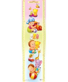 Dreamland Height Chart 5 - Multi Colour