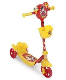 Disney Mickey Mouse Scooter - Yellow