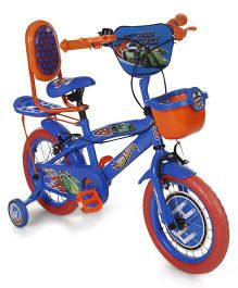 Hotwheels Bicycle Blue And Orange - 29 inches