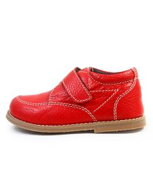 Beanz Party Wear Shoes - Red