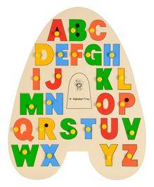 Skillofun A Alphabet Wooden Tray