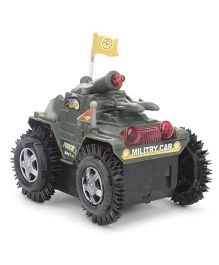 Playmate Tumbling Tank Toy - Green