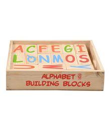Skillofun - Wooden Alphabet Building Blocks