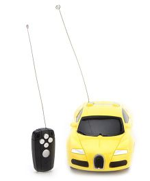 Playmate Remote Control Toy Car - Yellow