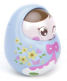 Sunny Tumbler Roly Poly Doll - Blue