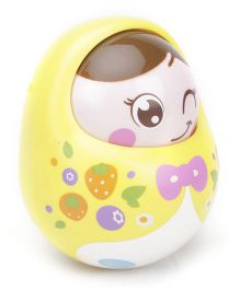 Sunny Tumbler Roly Poly Doll - Yellow