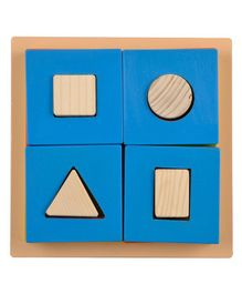 Skillofun - Exploring Fractions Wooden Square