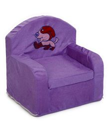 Lovely Puppy Design Sofa Chair - Purple