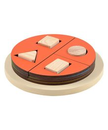 Skillofun Exploring Fractions Wooden Circle