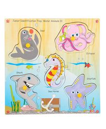 Skillofun - Wooden Junior Identification Tray Water Animals II