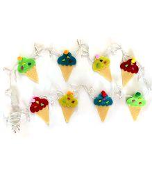 Fairytales Fairylights With Ice-cream  - Multicolor