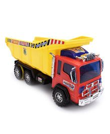 Kids Zone Diesel Dumper - Red And Yellow