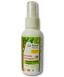 La Flora Organics Mosquito Bye Bye Organic Herbal Spray - 50 ml
