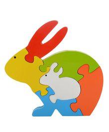 Skillofun - Take Apart Wooden Puzzle Rabbit