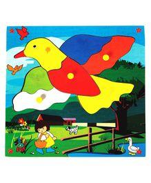 Skillofun - Theme Wooden Puzzle Standard Flying Bird