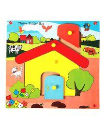 Skillofun - Theme Wooden Puzzle Standard Hut