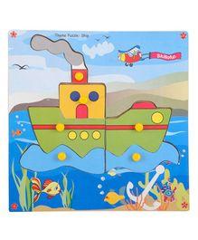 Skillofun - Theme Wooden Puzzle Standard Ship