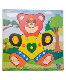Skillofun Theme Wooden Puzzle Standard - Teddy Bear