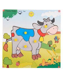Skillofun Theme Wooden Puzzle Standard - Cow