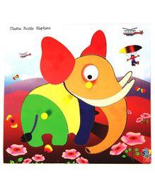 Skillofun - Theme Wooden Puzzle Standard Elephant