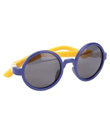 De Berry Round Shape Sunglasses - Blue