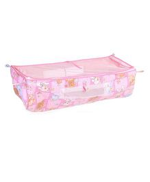 Mothertouch Indo Baby Cradle Cover Bear Print - Pink