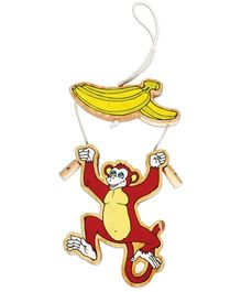 Achievers Wooden Monkey And Banana