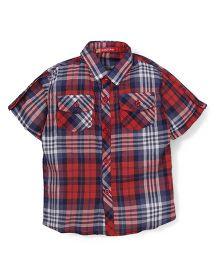 Kidsplanet Checks Print Shirt - Multicolour