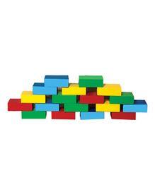 Skillofun - Wooden Building Bricks 18 Pcs