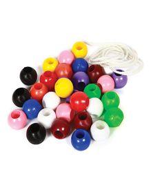 Skillofun Plastic Beads Round