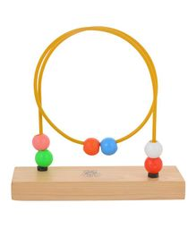 Skillofun - Wooden Bead Shuttle Round Loop