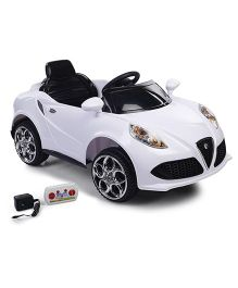 Mee Mee Battery Operated Ride-On Car White - CH PH969