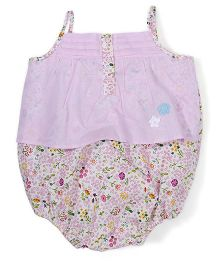 Childhood Floral Print Baby Top - Pink