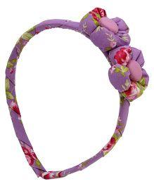 De Berry Flowers Hairband