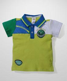 Bee Born Club Print T-Shirt - Green