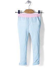 Mini Pink Pant - Blue