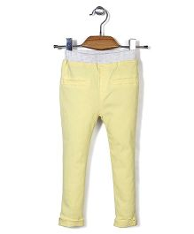 Mini Pink Pant - Yellow