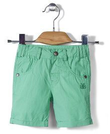 Bee Born Capris With Front Pockets - Green