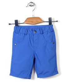 Bee Born Capris With Front Pockets - Blue