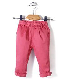 Minikid House Stretchable Pant - Coral