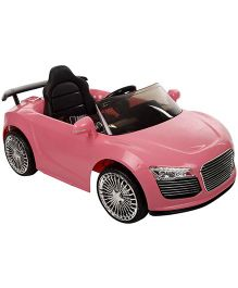 Battery Operated Ride-On Car - Pink
