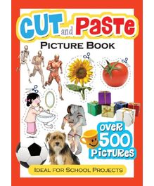 Cut And Paste - Picture Book Red
