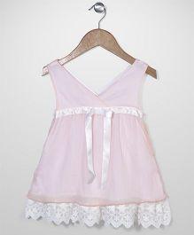 Notty Kid Attractive Dress - Light Pink