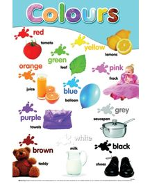 Sterling - Colours Early Learning Posters