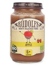 Rudolfs Organic Moms Delicious Puree Apple - 190 gm