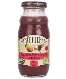 Rudolfs Organic Juice Pear & Blackberry With Honey - 190 ml